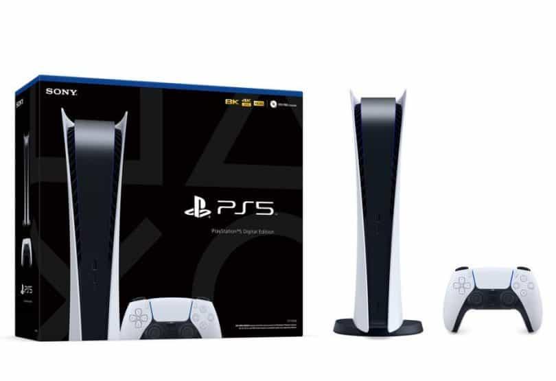 PS5 Box preoder