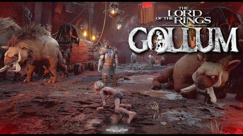 PS5 Lord of the Rings Gollum Gameplay